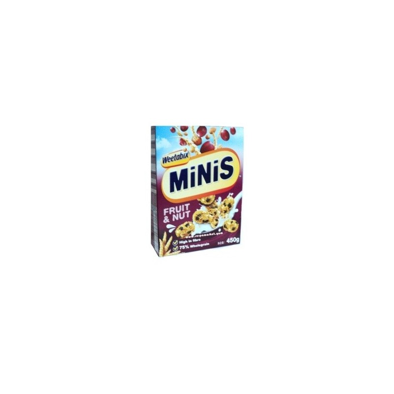 WEETABIX MINIS FRUIT & NUTS 450 GR