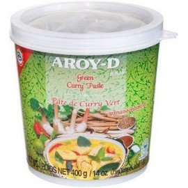 Aroy-D Yeşil Köri Ezmesi (Green Curry Paste) 400 gr